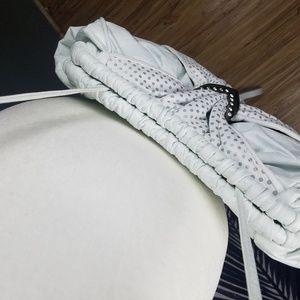 Bags - Crossbody 80's inspired white poka dot purse
